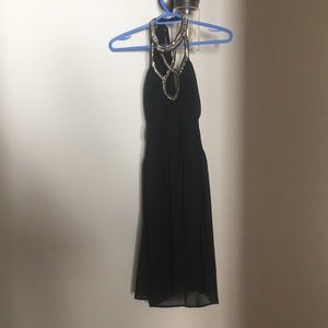 Dresses & Skirts - Faisca black dress with beaded neck
